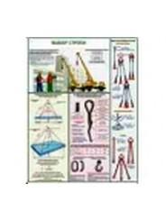 "Плакаты ""Безопасность грузоподъёмных работ"""