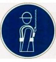 М 09 Работать в предохранительном (защитном) поясе