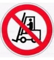 Р 07  Запрещается движение средств напольного транспорта