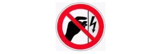 Р 09 Запрещается прикасаться. Корпус под напряжением