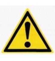 W 09  Внимание. Опасность (прочие опасности)