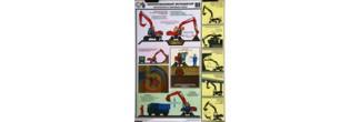 Безопасность земляных работ. Одноковшовый экскаватор