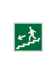 Е 14  Направление к эвакуационному выходу по лестнице вниз