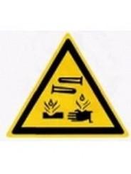 W 04  Опасно. Едкие коррозионные вещества