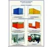 """Плакаты """"Морские контейнеры (виды, назначение, технические характеристики)"""""""