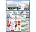 """Плакаты """"Перевозка опасных грузов автотранспортом"""""""