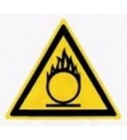 W 11  Пожароопасно. Окислитель